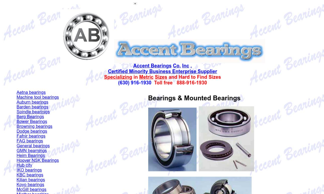 Accent Bearings Co. Inc.