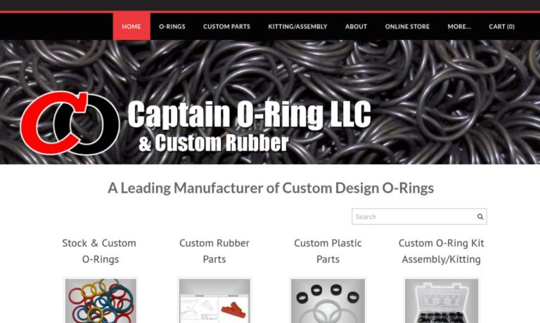 Captain O-Ring & Custom Rubber LLC