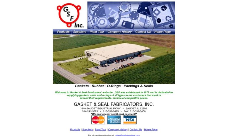 Gasket & Seal Fabricators Inc.