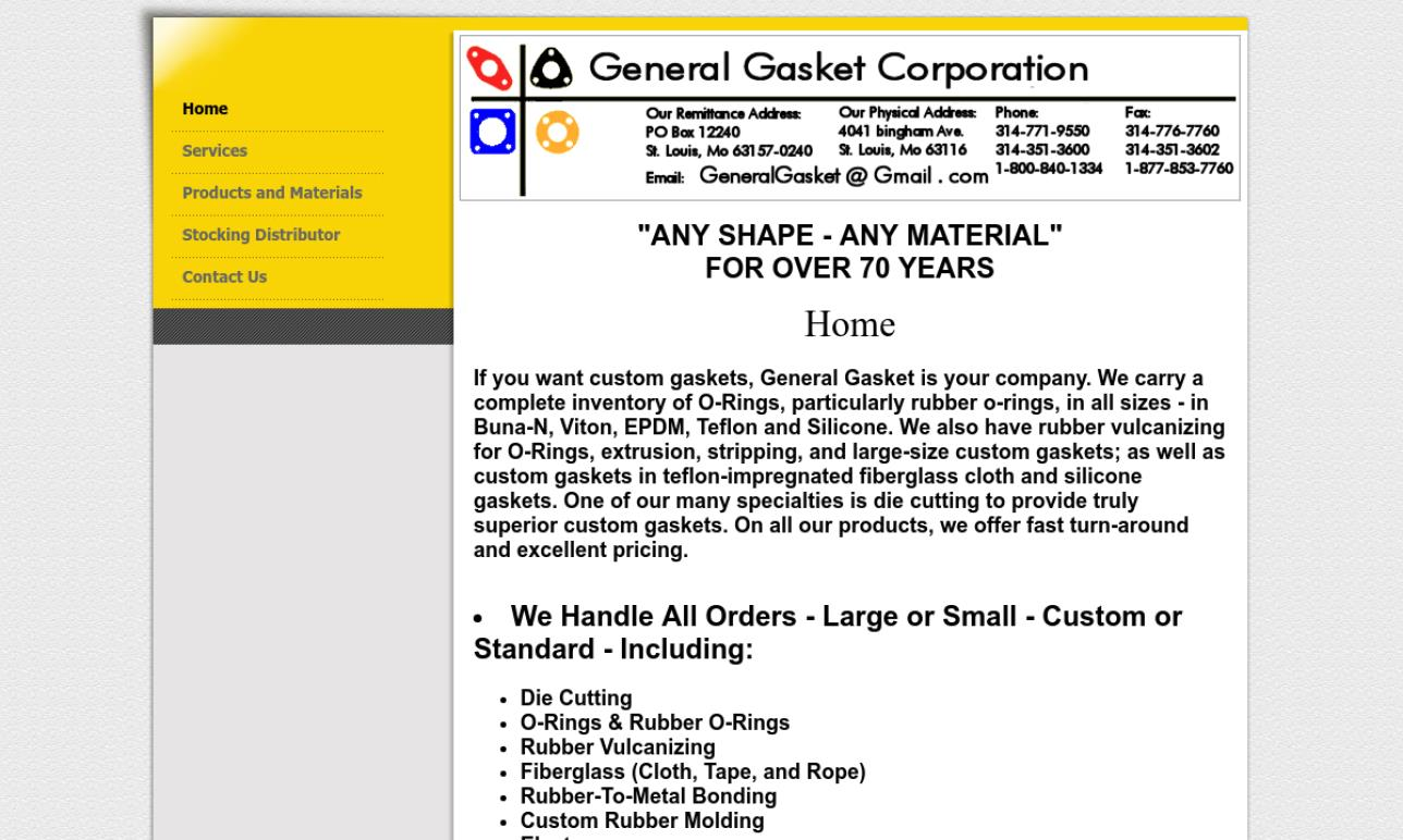 General Gasket Corporation
