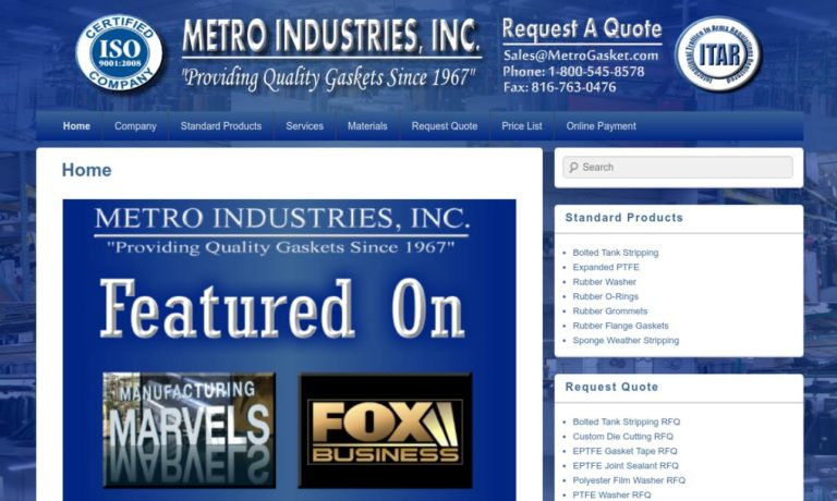 Metro Industries, Inc.
