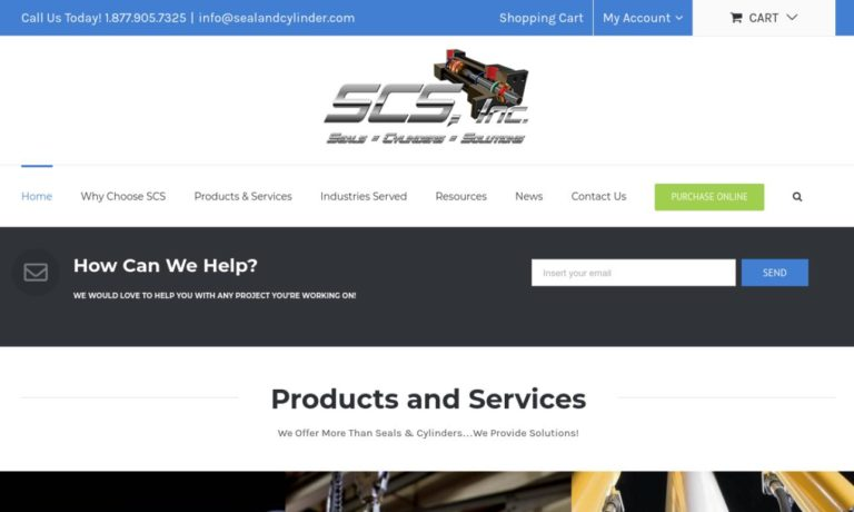 Seal & Cylinder Source, Inc.