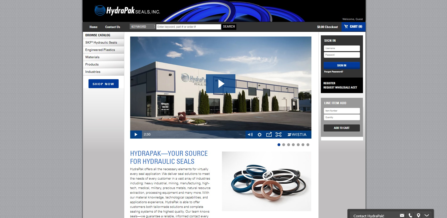 HydraPak Seals, Inc.