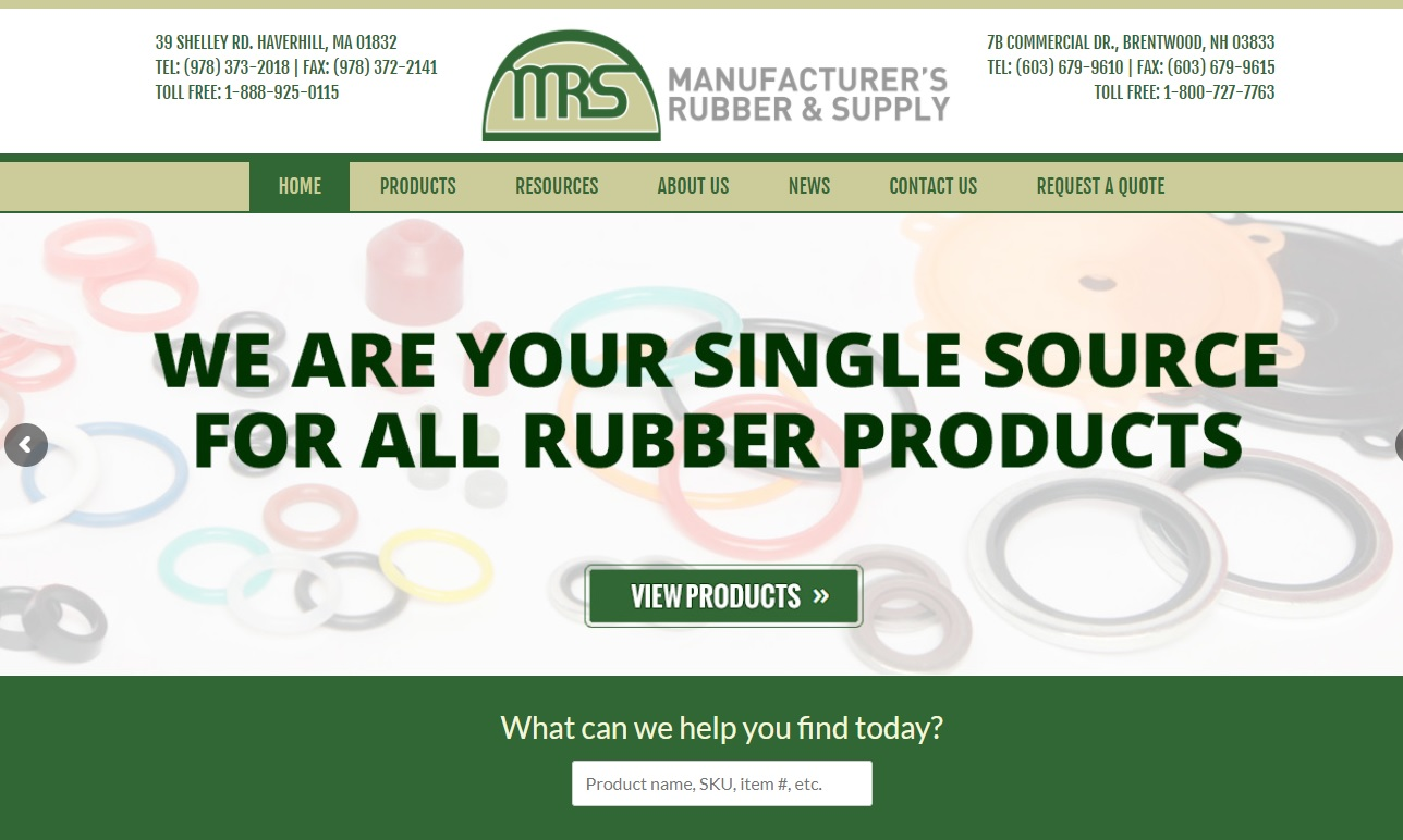 Manufacturer's Rubber & Supply